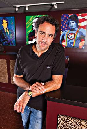 If you build it, will they laugh? Brad Garrett thinks so, and has staked a lot of money to find out.