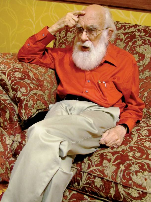 Magician and skeptic James Randi