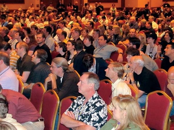 The Skeptics convention, held at South Point
