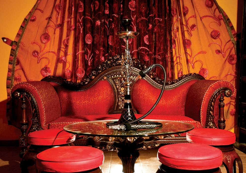 Maharaja hookah lounge fit for a king or a downtown hipster las vegas weekly - Shisha bar dekoration ...