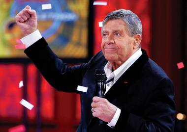 In 2007, Jerry Lewis predicted the Strip's hard times.