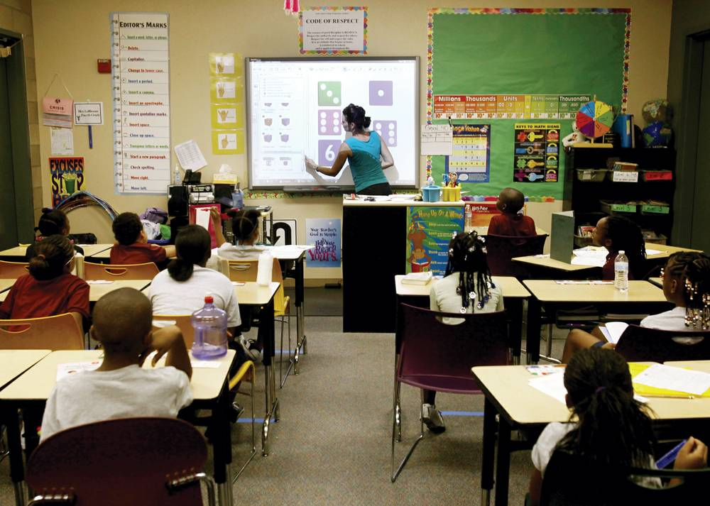 Modern Classroom Technology ~ Chalk dust what s that new technology makes the