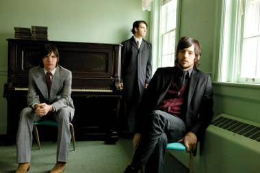 The Avett Brothers perform at the Silverton on September 2.