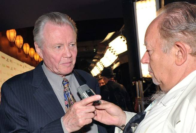 Jon Voight and Robin Leach.