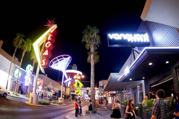Vanguard soft-opened Sept. 16 on Fremont Street.