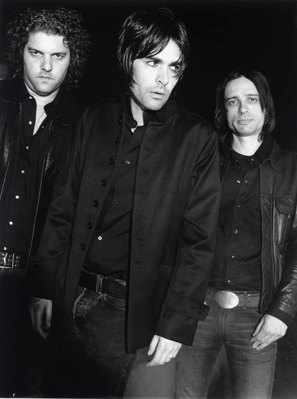 Jon Spencer (center) of The Jon Spencer Blues Explosion