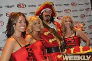 Marisa Miller and Captain Morgan @ Aria's Haze