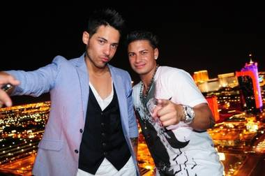 "Jason ""JRoc"" Craig and DJ Pauly D, who's not a bachelorette as far as we know…"