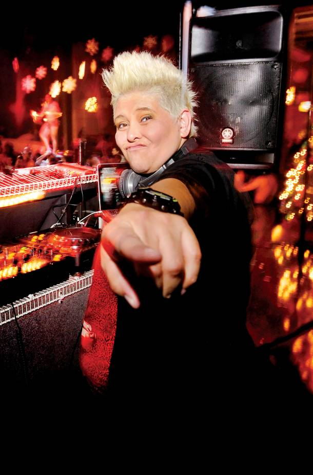 World-renowned DJ Irene returned to Sin City to spin for Krave's second annual Snow Ball.