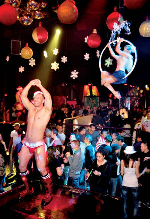 Krave never ceases to amaze with their creative themed parties. The second annual Snow Ball was no exception.