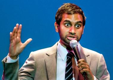 Aziz Ansari returns to the Palms Dec. 11, upgrading from his last show at the Palms Lounge to the Pearl Concert Theater.