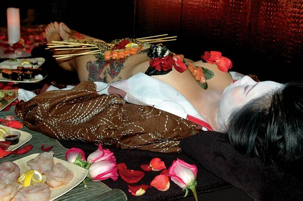 Nyotaimori or Naked Body Sushi | Stag Weekends In Latvia.
