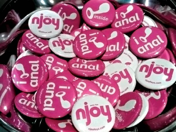 Founded in 2005, Njoy is up this year for AVN's award for Best Small Sex Toy Company.