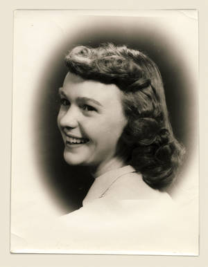Gretchen Payne, in 1953