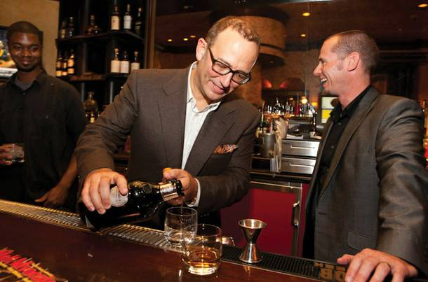 Michael Frey and Glenfiddich's Mitch Bechard