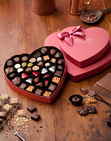 Yum. The Heart Box Collection from Ethel M.