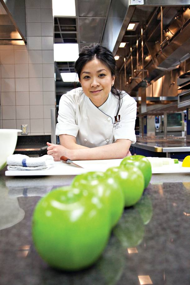Dyan Ng, pastry chef at Restaurant Guy Savoy.