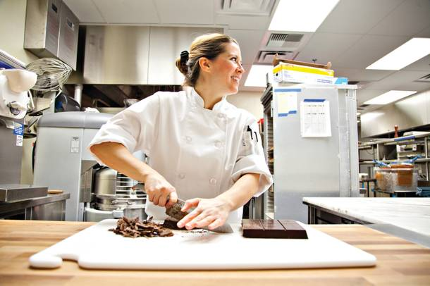 Vita Shanley, pastry chef at Scarpetta and D.O.C.G.