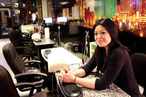Manicurist Kim Vy spends her nights painting nails and swapping secrets.