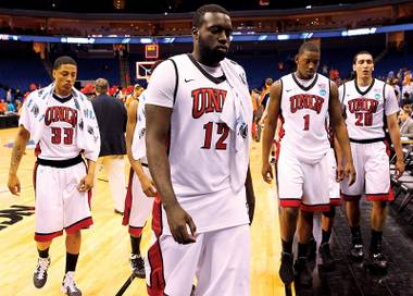 Better luck next year: Despite a strong season, the Rebels lost to Illinois in their first NCAA tournament game.