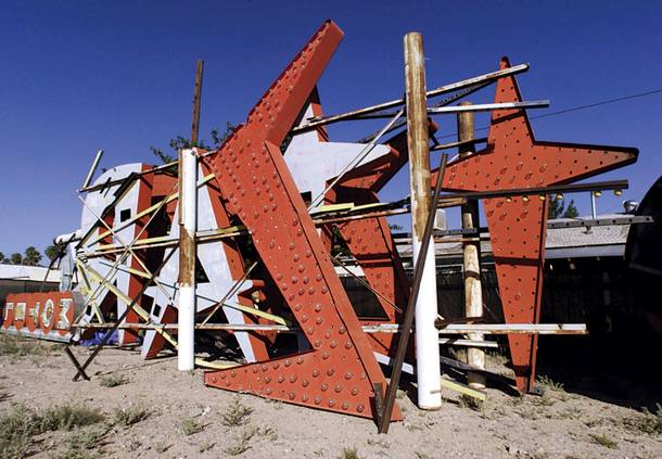 Stardust, relocated to the Neon Boneyard