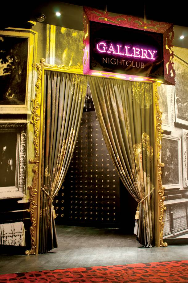 Gallery occupies the space once held by Prive at Planet Hollywood
