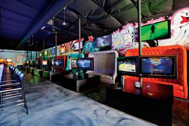 "The self-described ""videolounge gamebar"" delivered on its promise to seamlessly blend hardcore gaming with bumping nightlife."