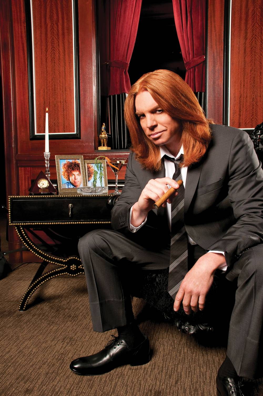 Carrot Top S Carrot Top Gets Tamed Las Vegas Weekly