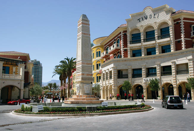 Developers spared no expense in completing Tivoli Village.