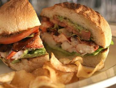 P.J. Clarke's is one of several restaurants offering up free food for moms this Mother's Day, like the Maine lobster BLT.