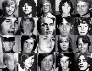 Victims of John Wayne Gacy.