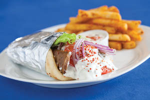 Greek Bistro's gyro never disappoints.