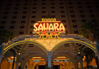 The final Saturday of operation at the Sahara in Las Vegas on May 14, 2011.