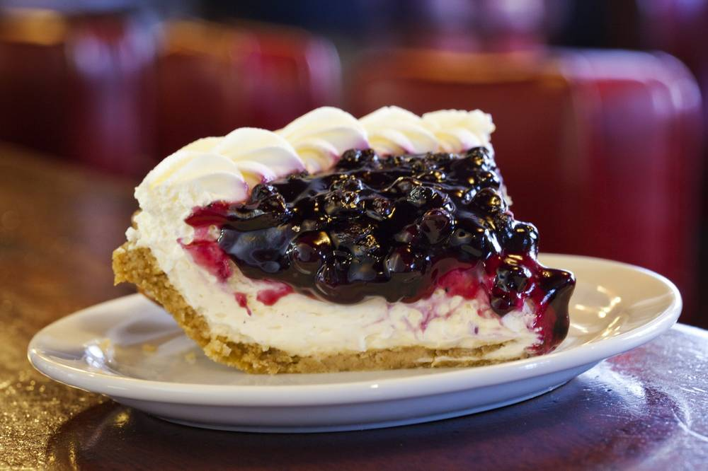 Best slice of pie: Blueberry Cream Cheese at Du-Par's ...