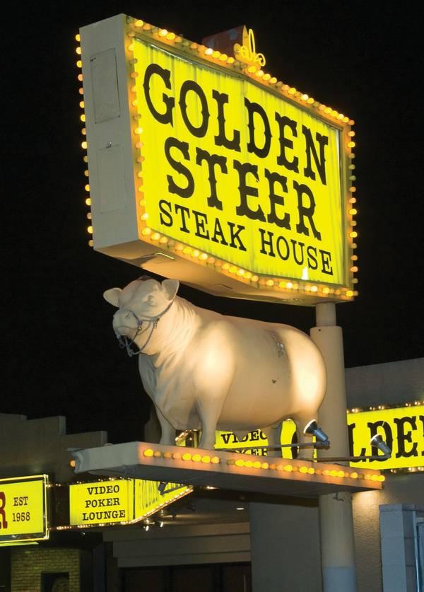 Best classic restaurant: Golden Steer - Las Vegas Weekly