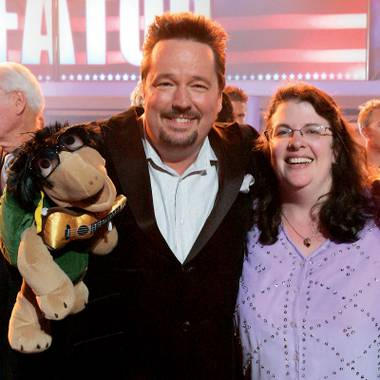 Terry Fator and ex-wife Melinda