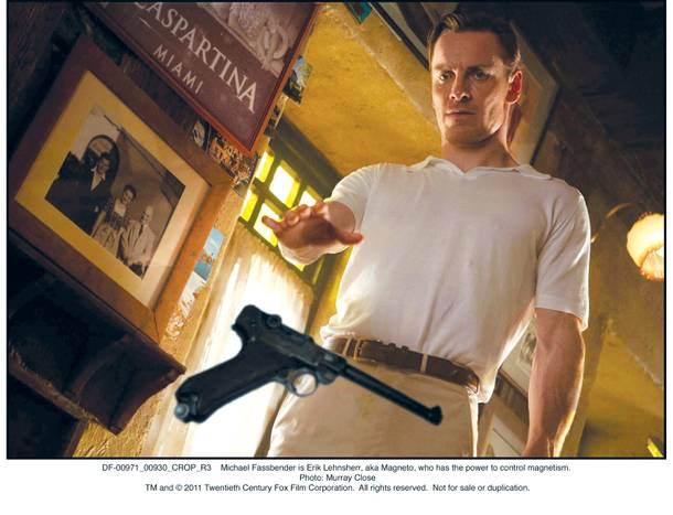 Even without Ian McKellen, who plays Magneto in some of the other X-Men movies, First Class gives Michael Fassbender a platform to command your attention (and guns).