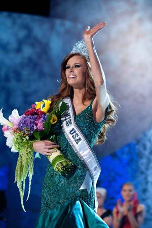 2011 Miss California USA Alyssa Campanella is the winner of the 2011 Miss USA Pageant at Planet Hollywood on June 19, 2011.