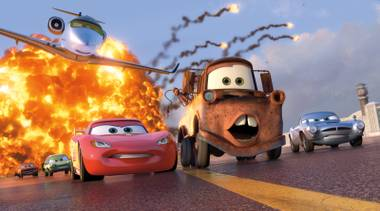 How does Cars 2 measure up to the standard set by the animation studio that brought us The Incredibles, Finding Nemo and the Toy Story movies?