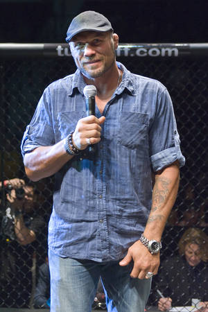 UFC great Randy Couture is scheduled to hand out the inaugural Tuff-N-Uff Heavyweight belt, named in his honor.