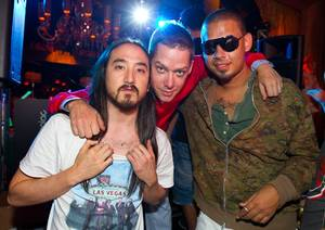 7/4/11: Afrojack and Aoki at XS