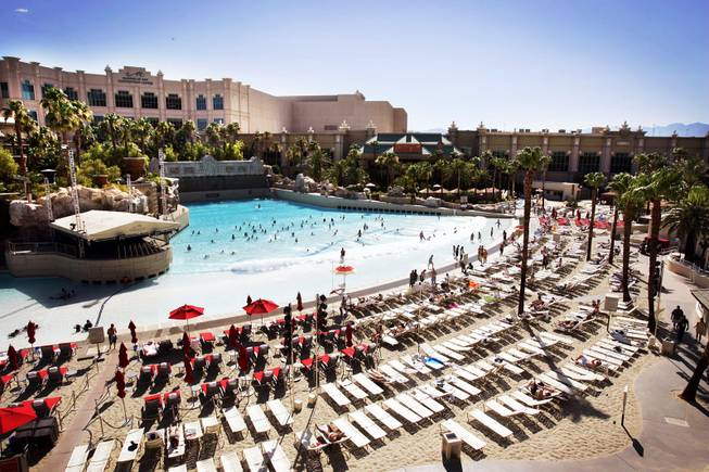 Las Vegas Resort Beaches Offer Oasis In