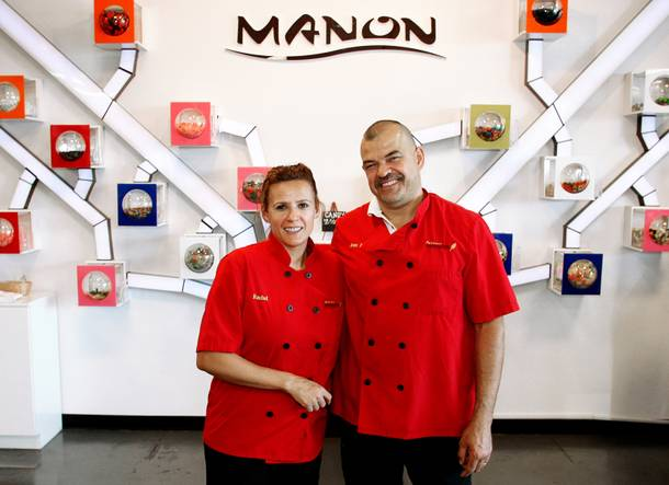 Jean-Paul and Rachel Layden are patissiers by trade.