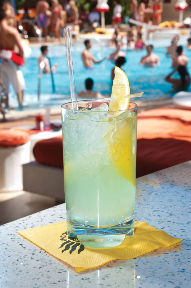 The Skinny Lemonade at Encore Beach Club.