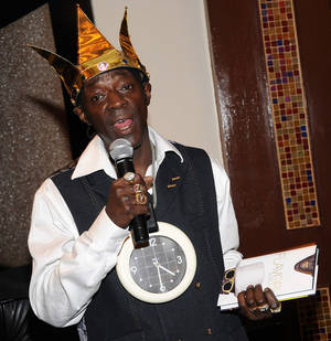 Flavor Flav Book Signing at L.V. Hilton