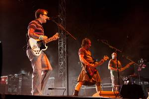 Weezer performs at Red Rock Casino