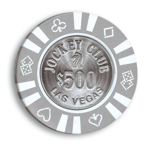 Jockey Club casino chip