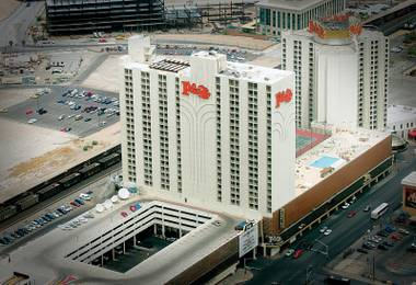 It is difficult to recall a hotel-casino redevelopment in modern Las Vegas history that has received as much hype as the $35 million job taking place at 1 South Main Street.