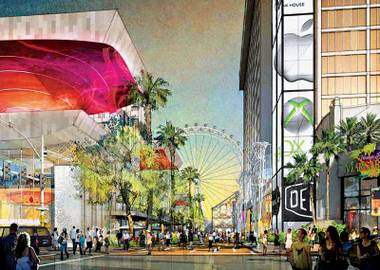 "And they say the ""urban gathering space"" around it will ""revitalize"" Las Vegas Boulevard. Sound familiar?"