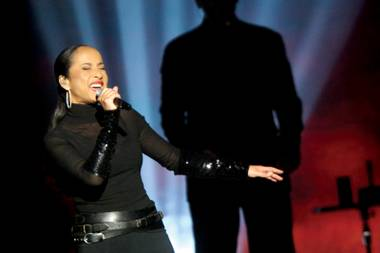 Sade seduces a sold-out crowd at MGM Grand Garden Arena.